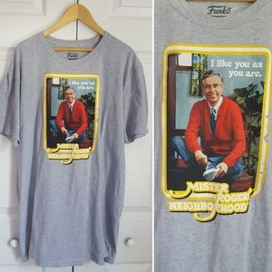 Funko Mr Rogers I Love You Just As You Are T-Shirt